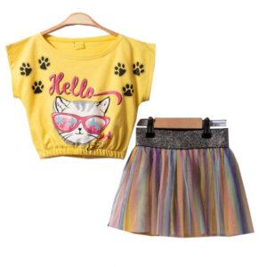 Tops & Skirts For Girls