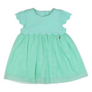 Green Frock Baby Girl